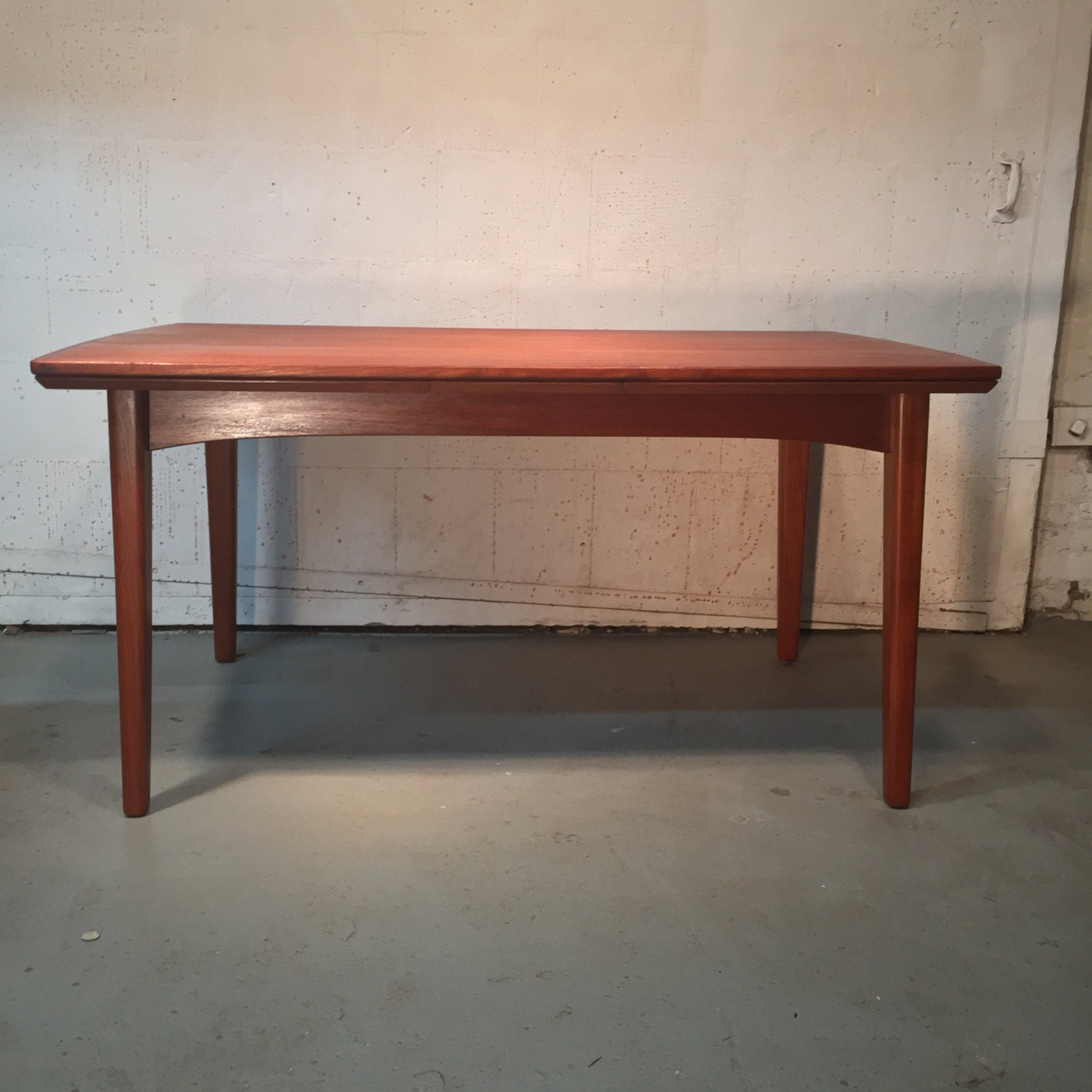 danish mid century modern teak dining table 850 obo free nyc