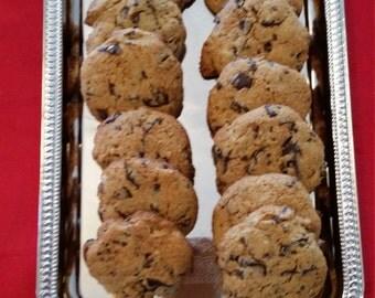 Gluten Free Chocolate Chip Chunk Cookies - Homemade - Paleo One Dozen