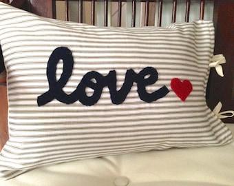 Love Pillow Case From Modern Family : Modern love pillows Etsy