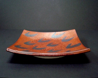 Ceramic platter, serving platter, porcelain plate, serving dish, sushi tray, high fired