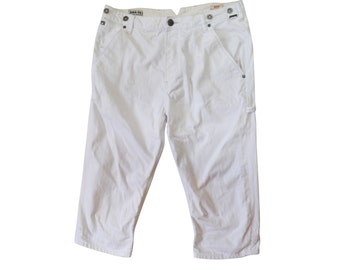 Vintage Scotch MFG. Co. Designed in Amsterdam Buck men white jeans pant W33/L34