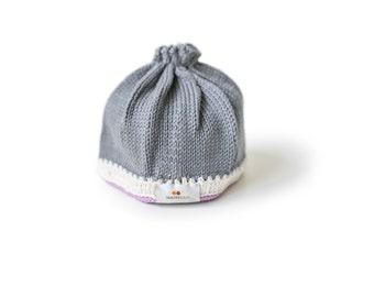 Signature Baby Hat: Stone Lavender