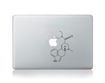 Molecular Structure Of LSD Vinyl Decal for Macbook (13/15) or Laptop