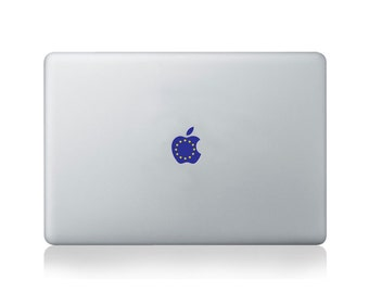 Apple Flag of Europe Vinyl Sticker for Macbook (13/15) or Laptop