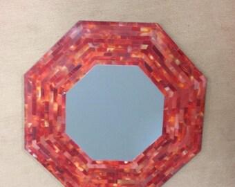 Pietra dura marble inlay mirrors wall decor carnelian stone inlaid pietredure art