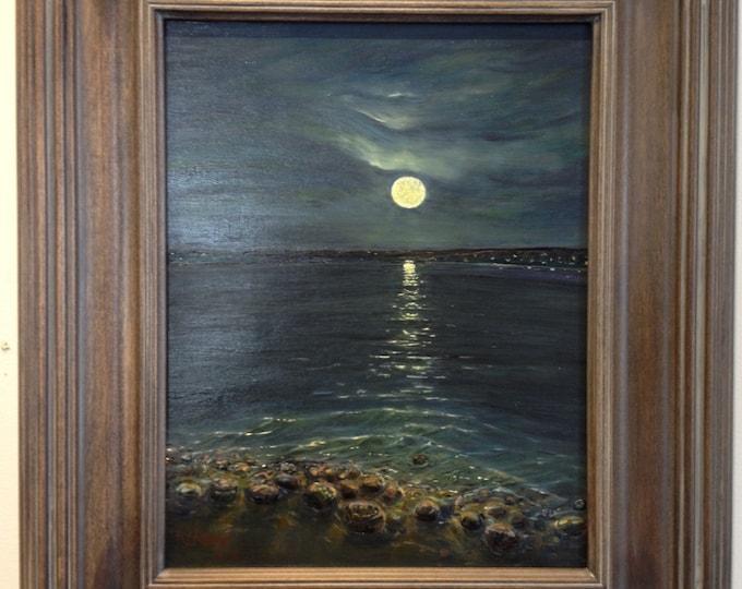 Moonlight on the Bay