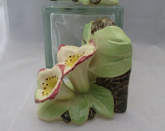 McCoy Hand Decorated Lily Bookends