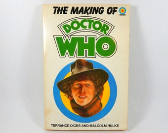 Doctor Who The Making Of Book, Paperback 1984