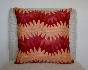 Mpendae - Genuine African Wax Fabric Cushions / Pillow Covers 18x18
