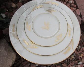 """Plate - Dinner Plate - Lenox China - """"Harvest"""" - Vintage"""