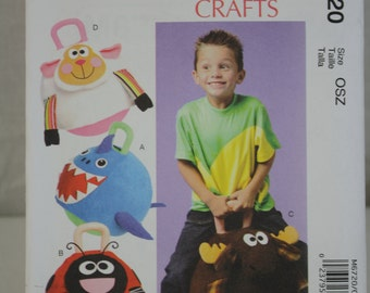 McCall's Crafts Pattern No. M6720 (OSZ) 2012 Uncut