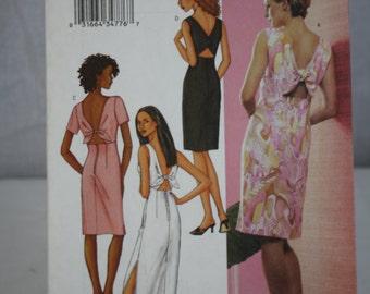 Butterick Pattern No. 3447 (14,16,18) 2002 Ladies Dress Uncut