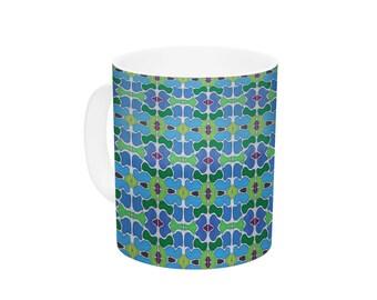 "Ceramic Coffee Mug - Empire Ruhl ""Sea Glass"" - Great Gift!"