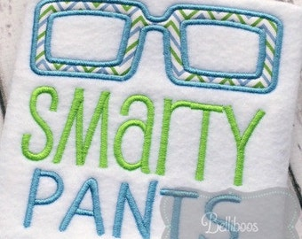 School Applique Design - School Embroidery Design - Applique Design - Embroidery Design - Back to School Applique - Boy Applique Design
