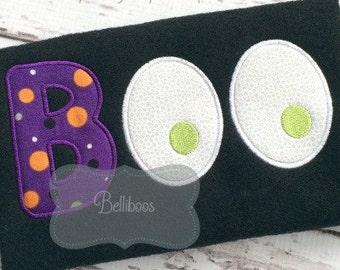 Halloween Applique Design - Boo Applique Design - Halloween Embroidery Design - Boo Embroidery Design - Applique Design - Ghost Applique