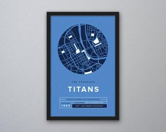 Tennessee Titans Print