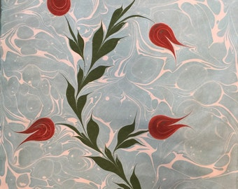 Ebru - Traditional Turkish Marbling Art - Original Hand Marbled Paper