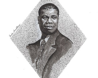 Limited Edition Print of New Orleans Jazz Pioneer, Louis Armstrong