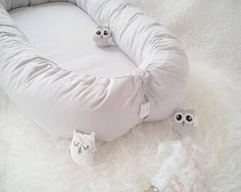 Baby nest - Babynest / Grey