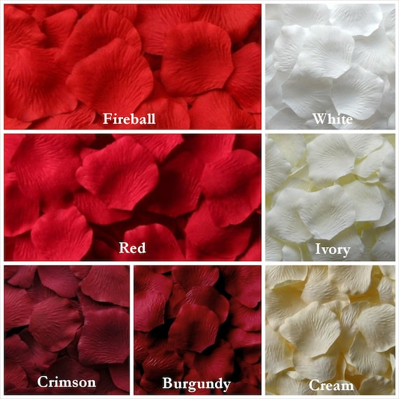 how to make fake rose petals