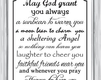 May God grant you always...
