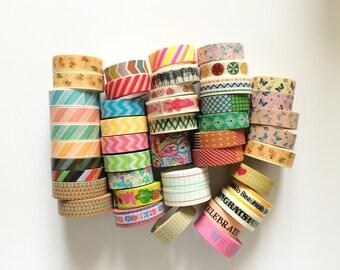 Washi Tape Grab Bag - 5 random rolls