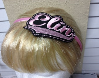 Elin - Headband Slip On  - DIGITAL EMBROIDERY DESIGN