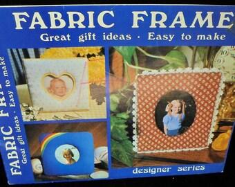Fabric crafts book Fabric Frames Designer Series GP 455 by Terri Gick