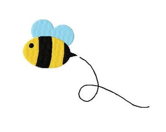 Embroidery Design Bee 4'x4' - DIGITAL DOWNLOAD PRODUCT