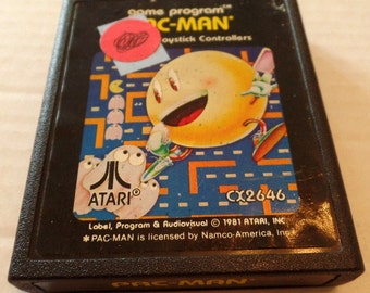 Atari Pac-Man cartridge, 1981.