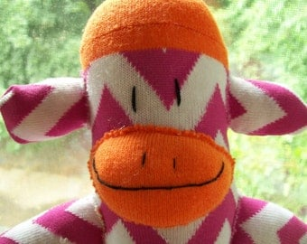 Bright Sock Monkeys