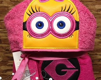 Personalized Towels for Kids - Hooded towel for kids – Hooded towel for baby – Embroidered Hooded towel -  Beach towel for Kids - Gifts
