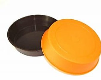 20 Proops Plastic Dipping Bowls (10x brown and 10x orange). (S7315) Free UK Postage