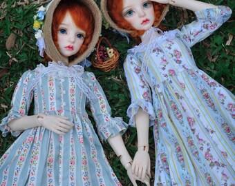 Maskcatdoll Spring flowers bjd dress for SD size