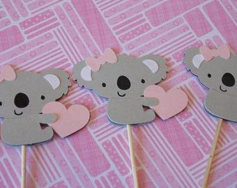 Koala Baby Shower/Baby Koala Party/Australia/ Kangaroo/ Baby Shower/ Birthday Party/ Baby Topper/Valentine's Day/V Day
