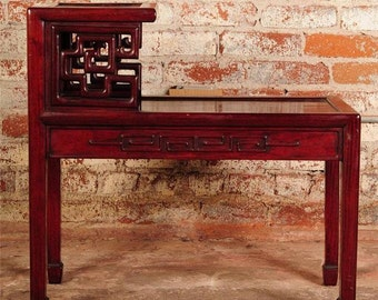 Chinese Antique Rosewood Two levels Table Stand -NiCE!