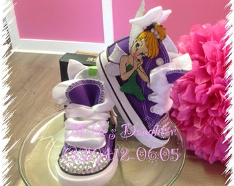 Tinkerbell Bling Converse!