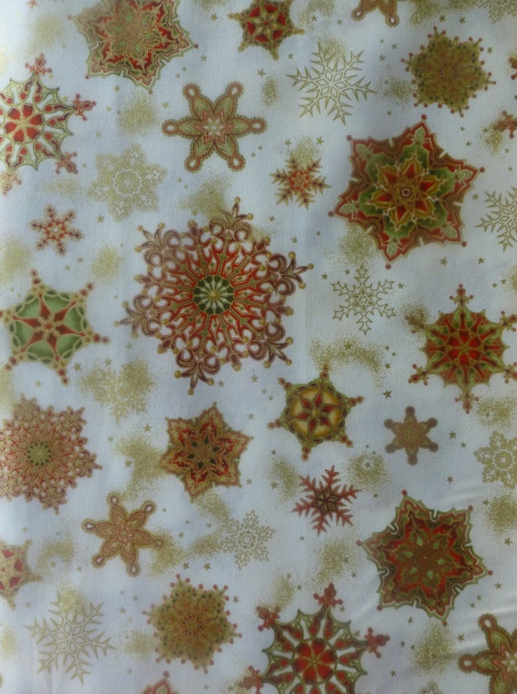 Cotton Fabric Home Decor Quilt Craft By Suesfabricnsupplies