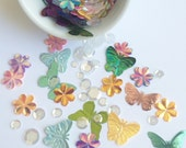Butterfly Kisses (Slightly cupped) Relish Mix perfect for scrapbooking, card making, project life, and more!