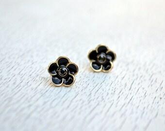 Flower Earrings -Studs Earrings