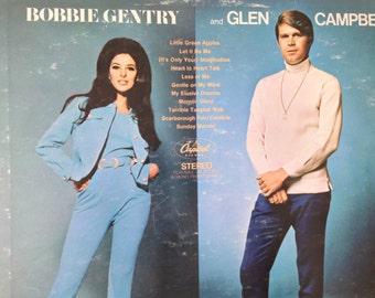 Bobbie Gentry and Glen Campbell - vinyl record
