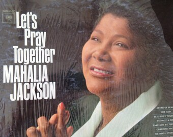 Mahalia Jackson - Let's Pray Together - vinyl record