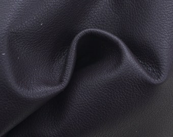 "Dark Purple Leather Cow Hide 8"" x 10"" Pre-cut 2 1/2 ounces grainy TA-25137 (Sec. 4,Shelf 5,D)"