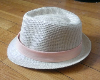 Infant Fedora Hat w. Detachable Hat Bands! This listing includes ONE BAND only.