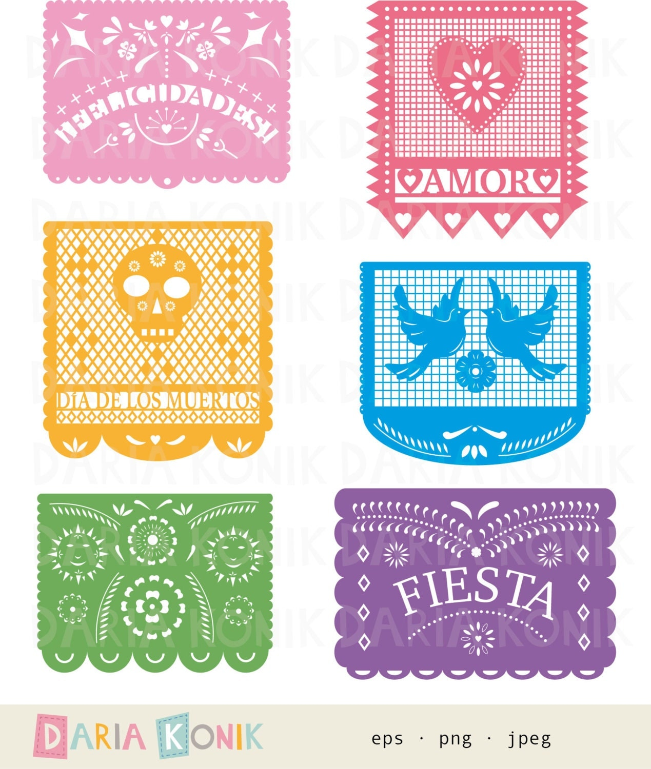 papel picado clipart - photo #9