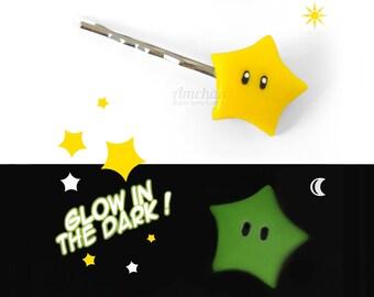 Mario Star Hairpin Set