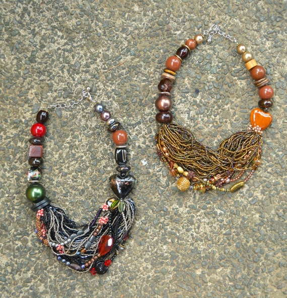 Mixed Media Necklace
