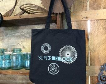 SuperWhoLock Tote  - SHINY!!