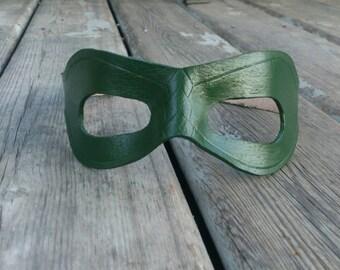 Green Arrow mask leather Arrow mask arrow show Mask Batman Mask Joker Hero Villain mask full strap