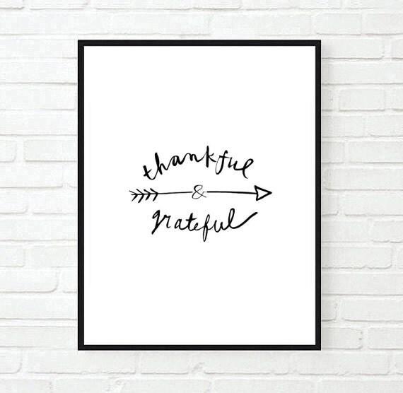 Articoli simili a grato e riconoscente famiglia tumblr - Decorazioni tumblr ...